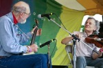Pete and Mike Seeger